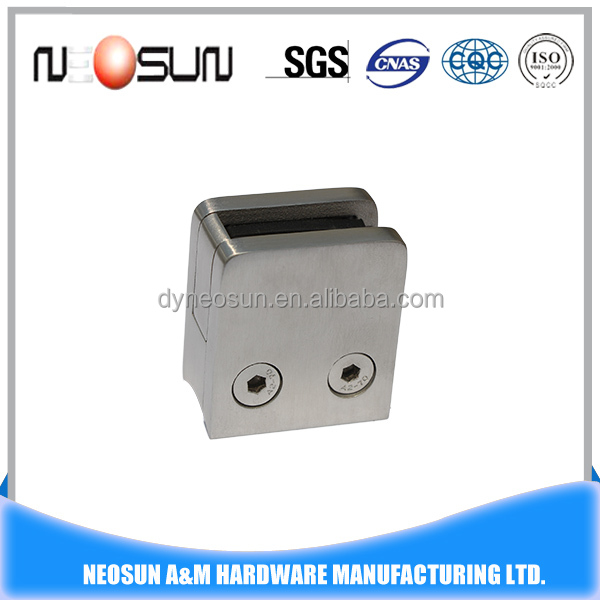 Stainless steel 316 curtain wall glass clamp