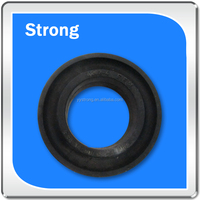 professional custom made black silicone rubber molding components