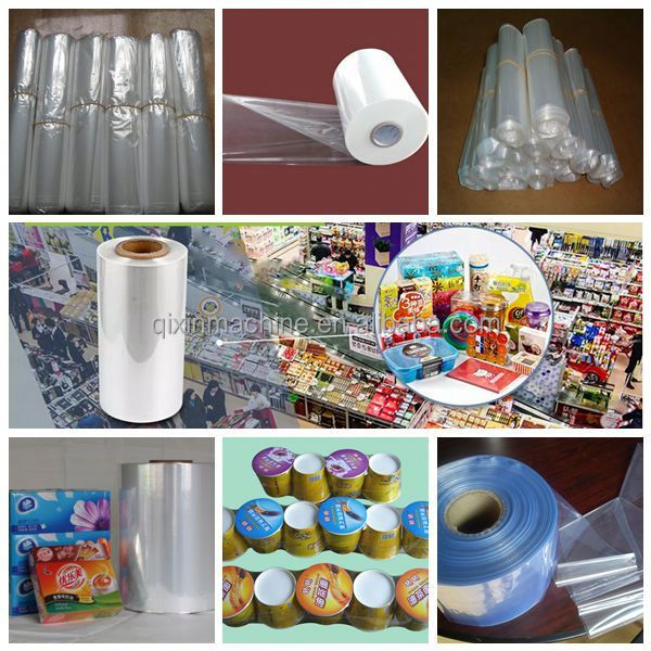 multi-layers custom printing pof shrink film for food fresh