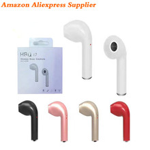 Hot 2017 New Product Mini Single Bluetooth Headphones Wireless Earphone Earbud Gaming Headset Sport Stereo Hbq I7 For Iphone 7