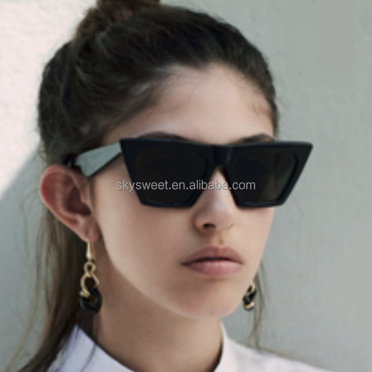 plastic cat eye sunglasses,2018 sunglasses,cheap sunglasses women(SWTAA3561)