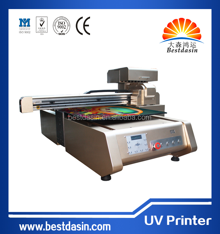 New model UV flatbed printer price with white ink in land invitation card printing machines canvas printing machine