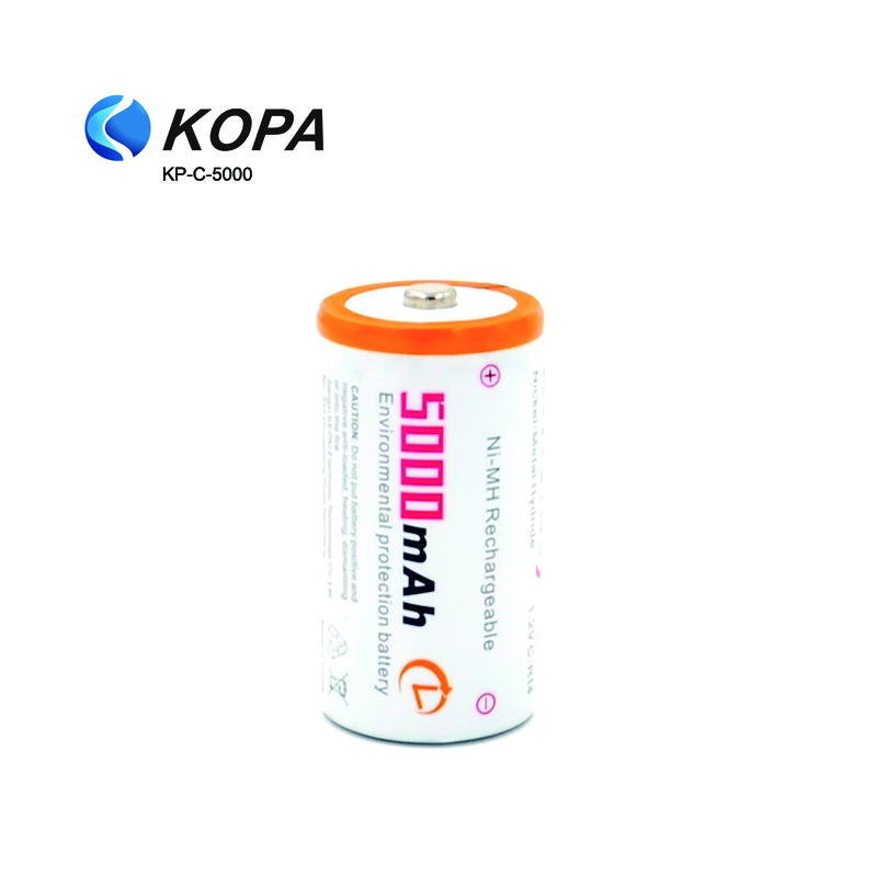 5000mAh 1.2V 3000mah Sub C NiMH Battery, C Size R14 Battery 1.5V,Rechargeable Battery C Pack of 2