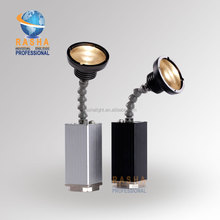 Rasha Warmwhite 10W Epin Battery Operated LED Pinspot IRC10W ZOOM Battery Powered Wireless LED Pinspot Light For Wedding Party