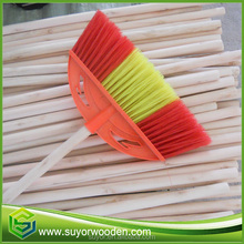 Chinese eucalyptus wood broom stick