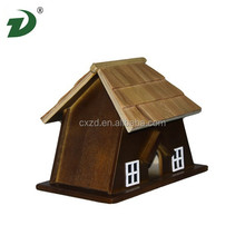 Cage wooden dogs outdoor simple black cloth dog house