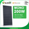 A Grade High Efficiency 200w mono solar panel kit easy DIY for home roof