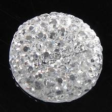 Gets.com resin clear rhinestone cabochon