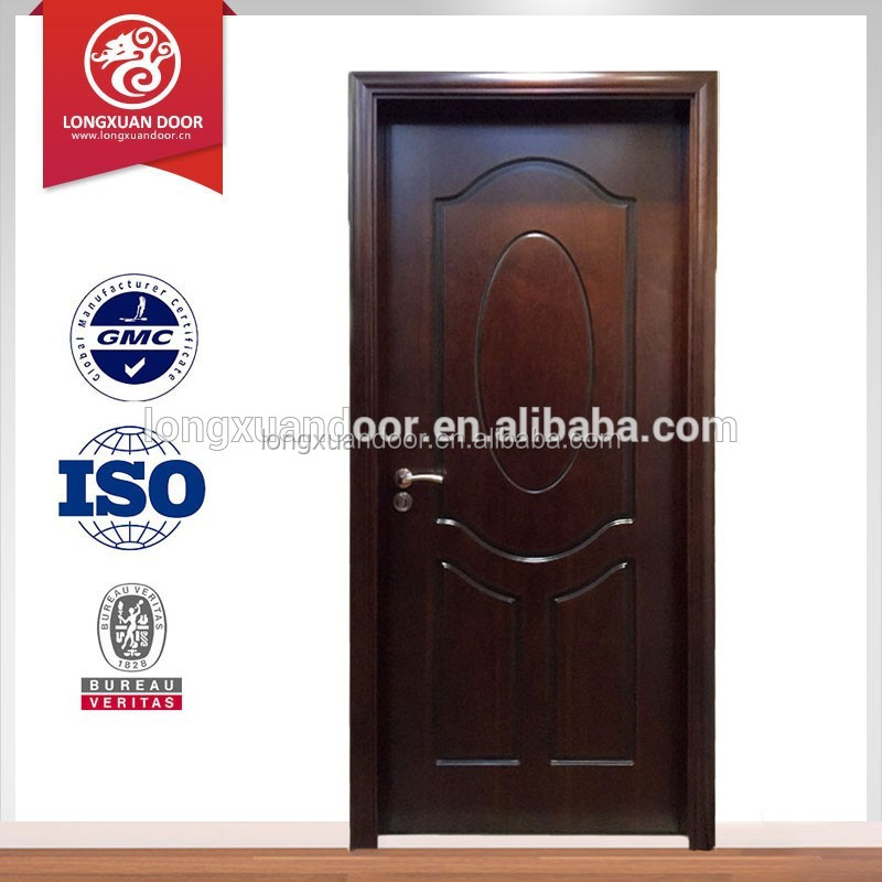 longxuan doors interior solid wood door lack, interior door panel