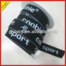 Promotion jacquard elastic band with custom logo