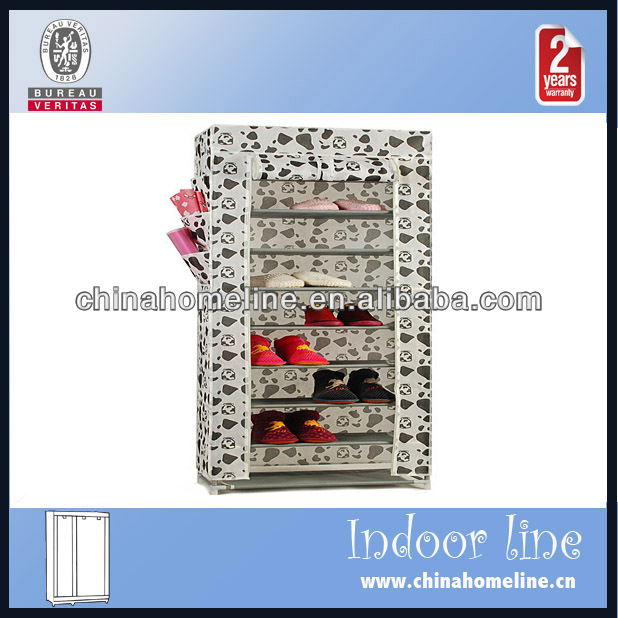 modern style shoe rack with zipper WAR00008-7