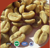 top grade green bean coffee picked from best coffee berry