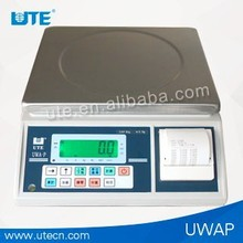 digital weighing scale with printer
