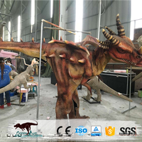 Special made artificial realistic dragon costume