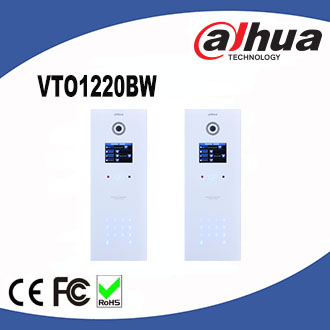 Dahua Door Phone Apartment Outdoor Station VTO1220BW Video Intercom System