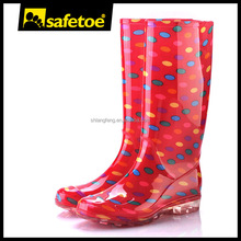 Transparent Clear PVC women rain boots
