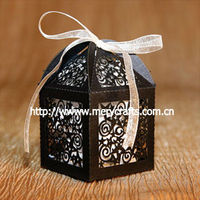 innovative design laser cut stars party supply wedding favors and gifts trinket box