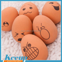 Cheap funny promotion customized egg stress ball