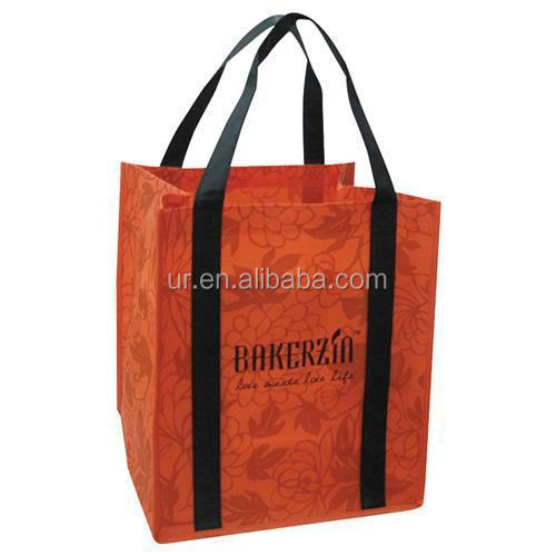 Export zipper tote bag non woven shopping bag with wholesale price