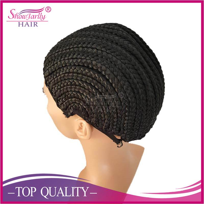 Cornrow Wig Cap For Wig Net Making Braids for Crocheting Human Hair Synthetic Hair Glueless