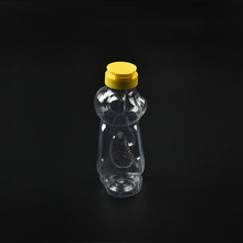 Supplier Empty Plastic Honey Packing Teddy Bear Shape Bottle Honey Plastic Bottle
