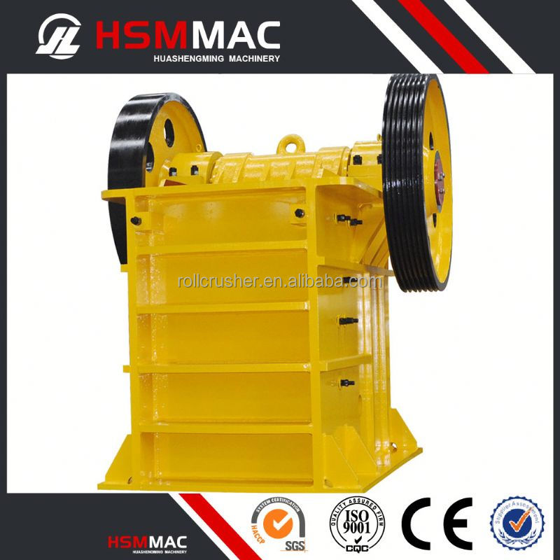 HSM Stone Crusher Machine Rubber Jaw Crusher