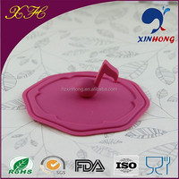 Alibaba express wholesale flower silicone pot lid