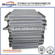 turbo intercooler core of tube within fin china manufacturers