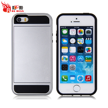Fashion style tpu and pc protective back phone case cover for apple for iphone 5,best original for iphone 5cases