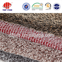 polyester tricot warp knitted microfiber terry fabric for plush toy and carpet