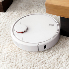 Household Tile Hardwood Floor Carpet Sweeping Machine Best Mijia Robot Vacuum Quiet Cleaner for Sucking Dog Hairs Ash