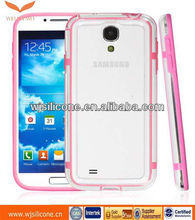 Double Color TPU Bumper cover For Samsung Galaxy S4 i9500