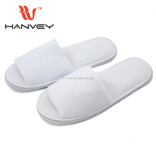 Factory price cheap hotel disposable plastic kids flip flop plush pvc indoor slippers