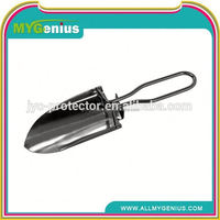 plastic shovel ,H0T027 types of spade shovel , shovel steel foldable