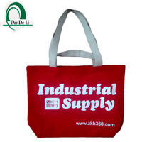 New arrival promotion cotton tote bag recyclable shopping cotton bag