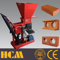 NEW machine ECO BRAVA 1-25 interlocking block making machine clay brick making machines sales in kenya