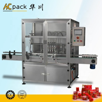 Full-automatic Sauce Filling Machine (plunger type)