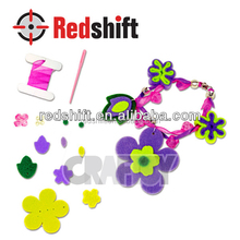 OEM arts & crafts kit Felt Jewelry Flower Bracelet