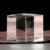 3d laser engraving crystal blank crystal cube for engraving