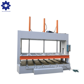 Hydraulic veneer cold press machine for making plywood