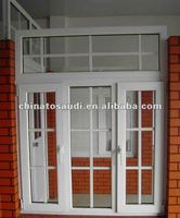 aluminum residential windows with simple decoration line