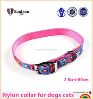 With OEM/ODM available soft nylon belt buckle dog pet dog collar