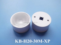 high power led reflector lens for led ceiling downlight 30 degree with holder&tape for Cree led
