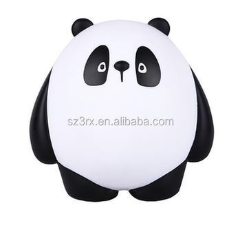 Making Your Own Vinyl Toy Cartoon Panda Sculptures, Custom PVC Cartoon model toys Model Maker,Vinyl toys collection