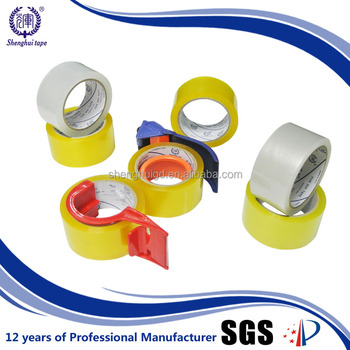 Alibaba Hot Sale Sealing All Bags Protection Yellowish Tape