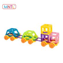 MNTL 112 PCS Christmas Toy Magnet Tiles Mini Magnetic Building Blocks for Kids - Factory Supplier