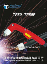 panasonic type trafimet brand factory direct selling air cool TP80-plasma cutting torch newly P80 plasma cutting torch