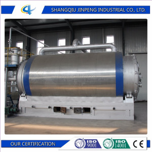 Waste Tyre to Oil Refining Machine Waste Tyre Shredding Plant Used Rubber Recycling Machine