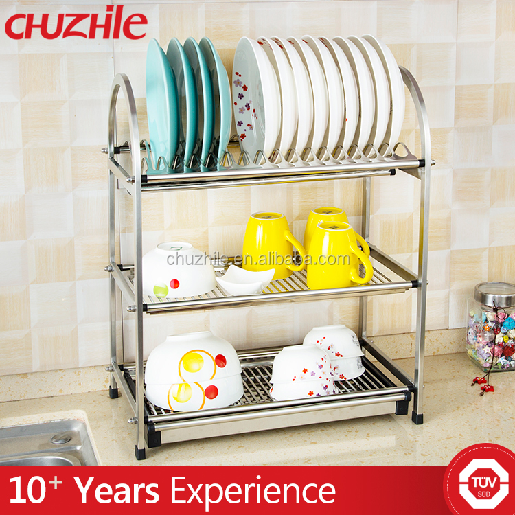 Zhongshan hot sale high quaulty stainless steel dish drainer rack