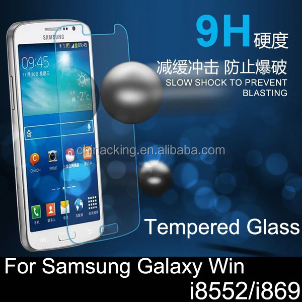 Premium Real Explosion-proof Tempered Glass Screen Film 9H for Samsung Galaxy Win I8552